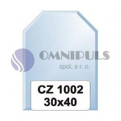 Ellux Zrcadlo šestiúhelník s fazetou FBS CZ - 1002 (rozměr 30*40cm)