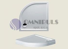 Riho sprchová vanička 279 80*80*4,5cm s panelem a nožičkami (R 55)