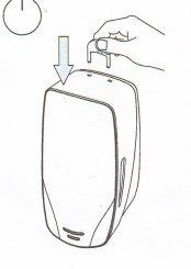 Merida DMC201 - Dávkovač pěnového mýdla MERCURY černý/nerez, doprodej