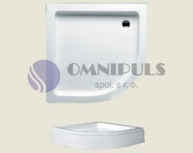 Riho sprchová vanička 210 90*90*8,5cm s nohami a panelem (R 55)