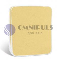 Brotex Prostěradlo mikroflanel světle žluté 90x200