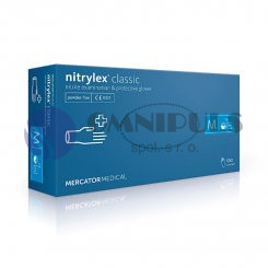 Merida MR025 - Rukavice nitrilové, velikost M, 100 ks / bal.