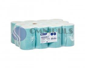 Merida RKZ202 - Papírové ručníky v rolích MINI - ZELENÉ, (12rolí/balení)