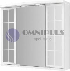 Jokey Binz Led skříňka - bílá š. 67,5 cm, v. 60 cm, hl.22/14 cm, 111913720-0110