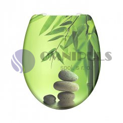 Eisl Sanitär EDGG01SC, GREEN GARDEN Wc sedátko, duroplast, soft close,