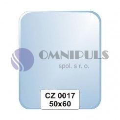 Ellux Zrcadlo zaoblené s fazetou FBS CZ - 0017 (rozměr 50*60cm)