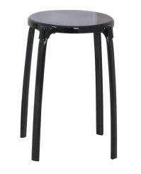 Ridder Premium stolička do koupelny, černá, A1050110