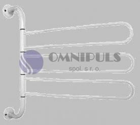 Aqualine otočný trojsušák, bílá (8002)