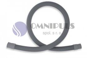 Novaservis Pračková vypouštěcí hadice rovná šedá 400cm (PV/400)