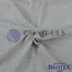 Brotex Froté prostěradlo na jednolůžko 90*200cm, šedé (042)