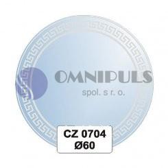 Ellux Ornamentální zrcadlo kulaté FBS CZ - 0704 (průměr 60cm)