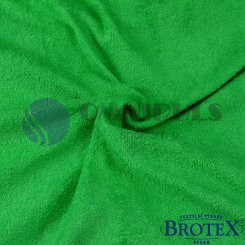 Brotex Froté prostěradlo na jednolůžko 90*200cm, zelené (040)