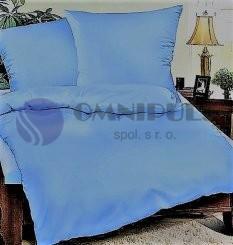 Brotex Povlečení bavlna Modrá 140x200 70x90, zipový uzávěr