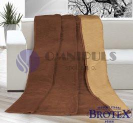 Brotex deka kira plus čokoládová/oříšková 150x200