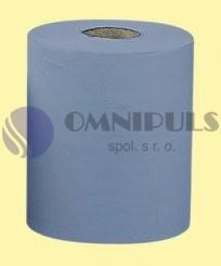 Merida UTN001 - Papírové čistivo EKONOMIK, modré - 4 vrstvé (2role/balení)