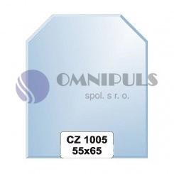 Ellux Zrcadlo šestiúhelník s fazetou FBS CZ - 1005 (rozměr 55*65cm)