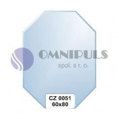 Ellux Zrcadlo osmiúhelník s fazetou FBS CZ - 0051 (rozměr 60*80cm)