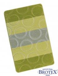 Bellatex Kroužky zelené 60 x 100 cm