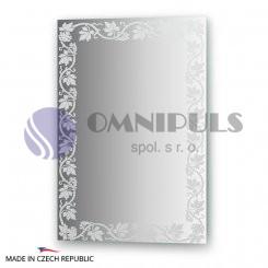 Ellux Ornamentální zrcadlo FBS Artistica CZ - 0759, réva (rozměr 50*70cm)