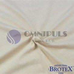 Brotex Jersey prostěradlo na jednolůžko 90*200cm, sv. béžové (015)