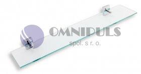 Novaservis Polička rovná Metalia 12 chrom (0240,0)