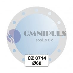 Ellux Ornamentální zrcadlo kulaté FBS CZ - 0714 (průměr 60cm)