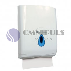 Merida ATN101 - Zásobník na jednotlivé (skládané) papírové ručníky TOP - MAXI - transparentní