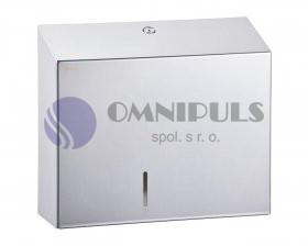 Merida BSP101 - Zásobník na toaletní papír STELLA MAXI,nerez lesk,23 cm