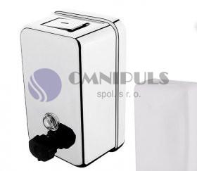Nimco HP 8131-18 zásobník na tekuté mýdlo nebo dezinfekční gel 1100ml, leštěná nerez