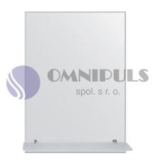 Santech Allianz zrcadlo s poličkou BY 506 (rozměr 60x80cm)