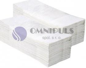 Merida PZ38 - Jednotlivé papírové ručníky 3200 ks, 100% celulóza, 2-vrstvé
