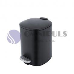 Nimco KOS 9005-90 odpadkový koš černá mat, 5 litrů