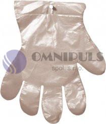 Merida RK11 - Jednorázové mikrotenové rukavice na odtrhnutí 100 ks/balení