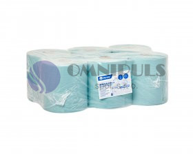 Merida RKZ102 - Papírové ručníky v rolích MAXI - ZELENÉ, (6rolí/balení)