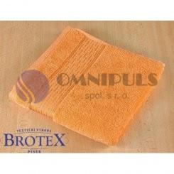 Brotex Froté osuška proužek 70*140 cm oranžová