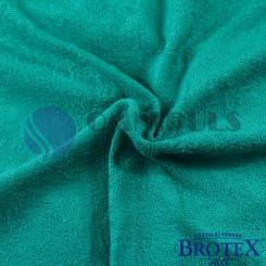 Brotex prostěradlo froté tmavě zelené 90x200 cm