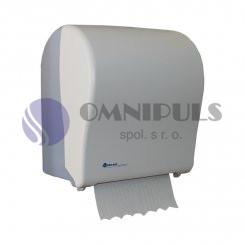 Merida CJB302 - Mechanický podavač papírových ručníků SOLID CUT, bílý-mat, MAXI role