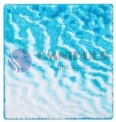 SAND bleděmodrá 55 x 55 cm, doprodej