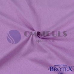 Brotex Jersey prostěradlo na dvoulůžko 180*200cm, sv. fialové (019)