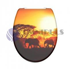 Eisl Sanitär AFRICA 82360, Wc sedátko, duroplast, soft close