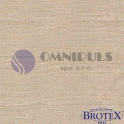 Brotex napínací prostěradlo bavlna béžové 90x200 cm