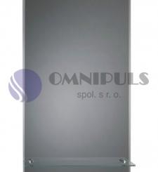 Ellux Zrcadlo obdélníkové s poličkou CC-7A (rozměr 55*80cm)