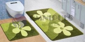 Brotex Magnolie zelená 60 x 100 + 60 x 50 cm, SADA ULTRA