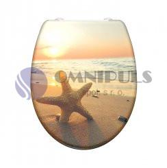 Eisl Sanitär SEA STAR 82373, Wc sedátko, duroplast, soft close