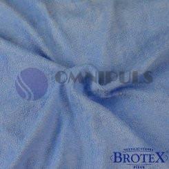 Brotex Froté prostěradlo na jednolůžko 90*200cm, modré světle (024)