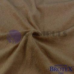 Brotex Froté prostěradlo na jednolůžko 90*200cm, béžové (016)