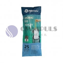 Merida WTB101 - TOP sáčky 7-10 l., bílé, zatahovací, parfémované, 25 ks/role