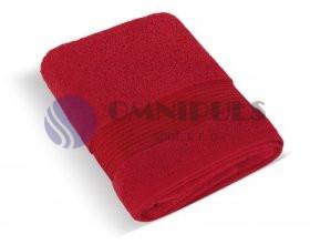 Brotex Froté osuška 70x140 cm proužek 450g červená