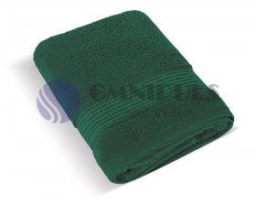 Brotex Froté ručník 50x100cm proužek 450g tmavě zelená