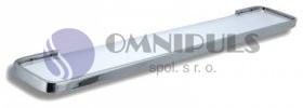 Novaservis Polička zaoblená Metalia 4 chrom (6440,0)